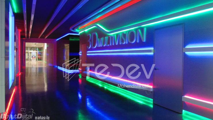 Coşkun Koleji 3D Multivision Sinema Salonu
